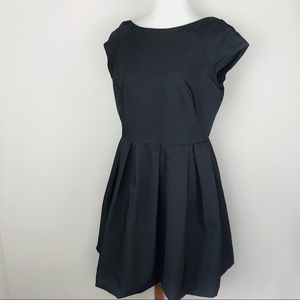 FRENCH CONNECTION Taffeta Fit and Flare Dress